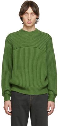 Jacquemus Green La Maille Louis Sweater