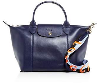 Longchamp Le Pliage Small Leather Shoulder Bag