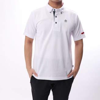 Munsingwear (マンシングウェア) - マンシングウエア Munsingwear メンズ ゴルフ 半袖 シャツ ニットMGMLJA05