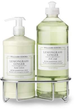 Williams-Sonoma Williams Sonoma Lemongrass Ginger Lotion & Dish Soap, Classic 3-Piece Set