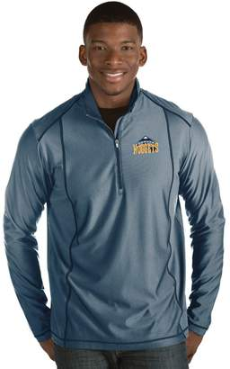 Antigua Men's Denver Nuggets Tempo Quarter-Zip Pullover