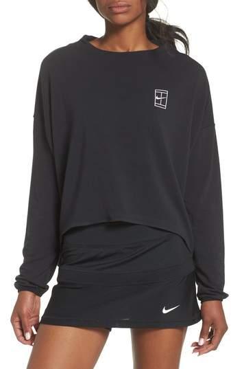 Court Dri-FIT Long Sleeve Tennis Top