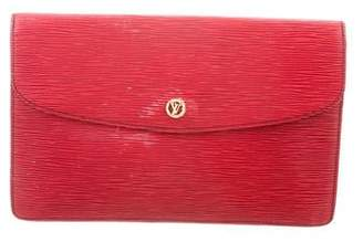 Louis Vuitton Epi Montaigne Clutch
