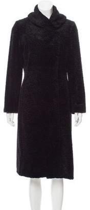 Calvin Klein Collection Long Textured Coat