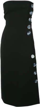 CHRISTOPHER ESBER extended tab button dress