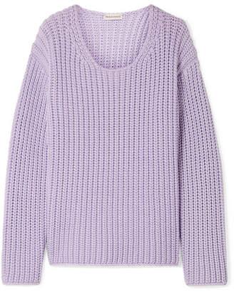 Mansur Gavriel Cotton-blend Sweater - Lavender