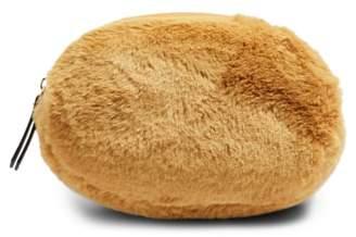 Topshop Faux Fur Oval Bumbag