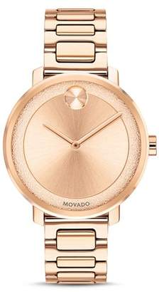 Movado BOLD Sugar Dial Watch, 34mm