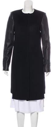 J Brand Knee-Length Wool Coat