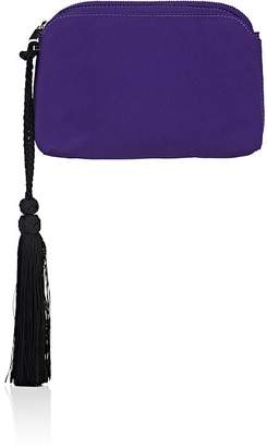Women's Multi-Pouch Mini Satin Wristlet