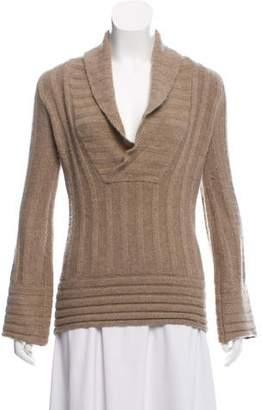 Minnie Rose Cashmere Knit Top