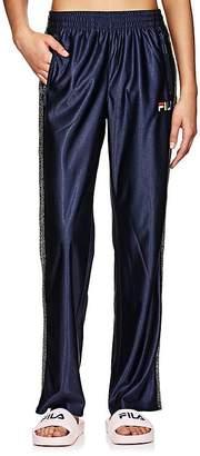 Fila Women's Logo Sparkly-Striped Pants
