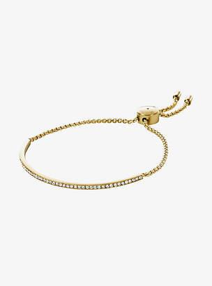 Michael Kors Pave Gold-Tone Bracelet