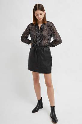 Bia Cordon Blue French Connenction PU Mini Skirt