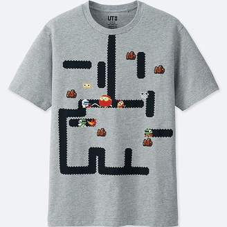 Uniqlo The Game By Namco Museum Short-sleeve Graphic T-Shirt (dig Dug)
