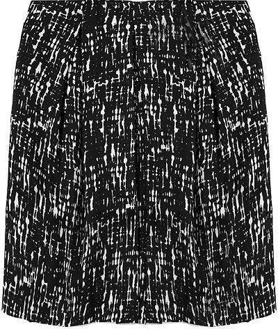 Bensoni Hatch Painted Calvary Twill Skirt