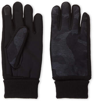 Levi's Navy Camo Touch Screen Gloves