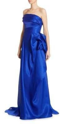 Silk Draped Gown