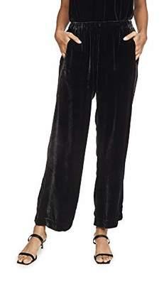 Velvet by Graham & Spencer Women's Frida Silk Velvet Pants