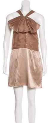 Sheri Bodell Silk Sequin Dress