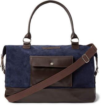 Leather Navy Holdall Shopstyle Shopstyle Leather Holdall Uk Navy EwOUpq