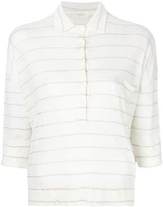 Zanone loose striped blouse