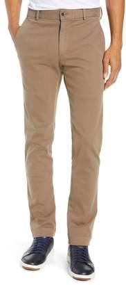Bugatchi Garment Dye Flat Front Straight Leg Pants