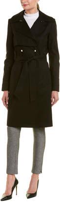 Trina Turk Trina By Brystl Long Trench Coat