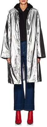 MM6 MAISON MARGIELA Women's Oversized Metallic Trench Coat