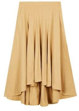 Masscob Sale - Silk Noil Maxi Skirt