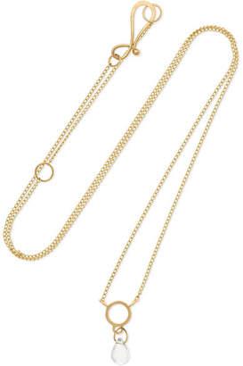 Melissa Joy Manning 14-karat Gold Topaz Necklace