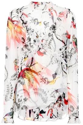 Caerra silk blouse