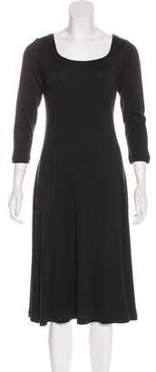 Lauren Ralph Lauren Silk Long Sleeve Dress