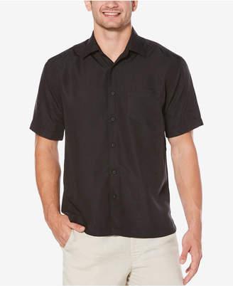 Cubavera Men Big & Tall Floral Jacquard Shirt
