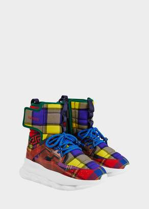 Versace Chain Reaction Sneaker Boots