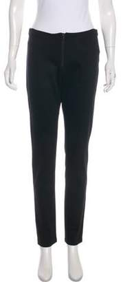 Alice + Olivia Casual Mid-Rise Pants Black Casual Mid-Rise Pants