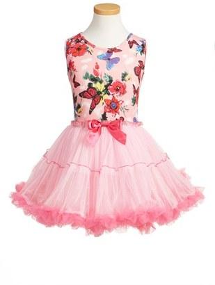Girl's Popatu Butterfly Print Tutu Dress $42 thestylecure.com