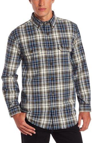 Carhartt Men's Fort Plaid Long Sleeve Shirt