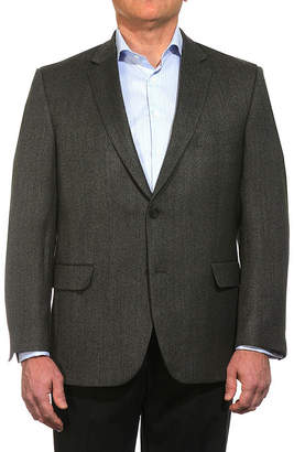 Jean Paul Gaultier GERMAIN Germain Wool Herringbone Sportcoat - Portly