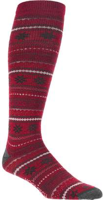 Woolrich Novelty Merino Knee Hi Snowflake Sock - Women's