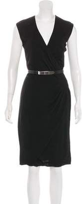 Ralph Lauren Black Label Sleeveless Knee-Length Dress