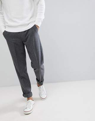 Farah Wool Crop Lined Plain Pants