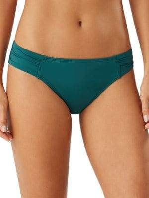 Tommy Bahama Pearl Solids Solids Shirred Hipster Bikini Bottoms