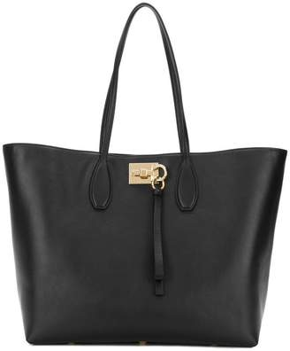 Salvatore Ferragamo wide tote bag