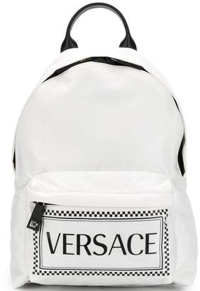 Versace printed classic backpack