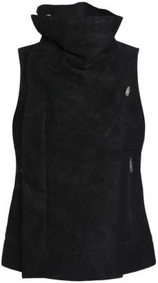 Rick Owens Brushed-Leather Vest