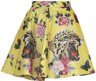 Philipp Plein Multicolor Skirt