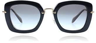 Miu Miu Women's Gradient MU07OS-KAY0A7-52 Rectangle Sunglasses
