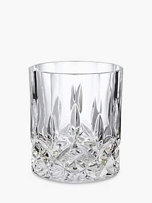 John Lewis & Partners Paloma Opera Double Old Fashioned Crystal Glass Tumbler