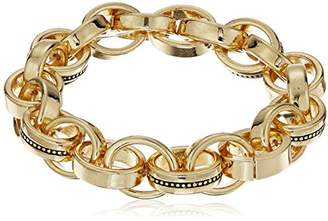 Laundry by Shelli Segal Melrose Place Chain Link Stretch Bracelet